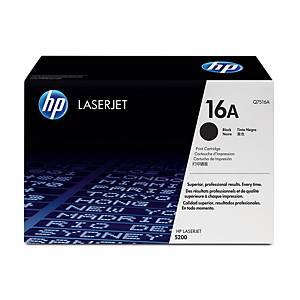 HP 16A Q7516A laservärikasetti musta