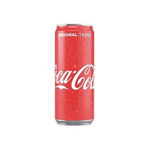 Coca-Cola 33cl, paquet de 24canettes