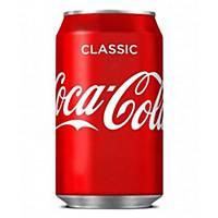 Pack de 24 latas de Coca-Cola - 33 cl