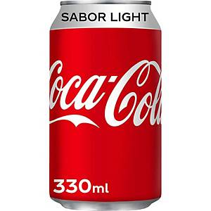 Pack de 24 latas de Coca-Cola Light - 33 cl