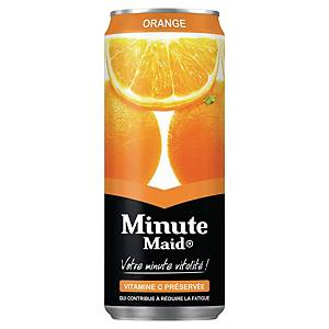 Minute Maid orange 33 cl - plateau de 24 canettes