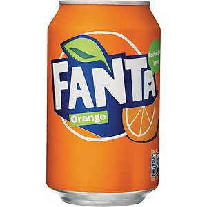 BOX OF 24 FANTA CANS 33CL