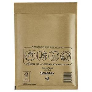 Bublinková obálka SealedAir Mail Lite® Gold, 180 x 260 mm, hnědá, 100 kusů