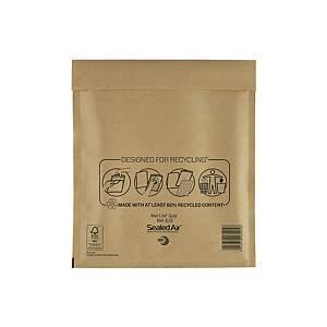 Luftpolstertaschen Mail Lite E/2, Innenmaße: 220x260mm, goldgelb, 100 Stück