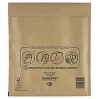 SealedAir Mail Lite® Gold légpárnyás tasak, 220 x 260 mm, barna, 100 db/csomag