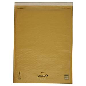 Mail Lite Bubble Lined Gold Postal Bags K7 350X470mm Box of 50