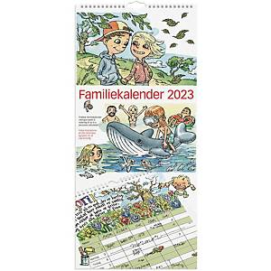Familiekalender Mayland 0661 00, måned, 2021, 6 kolonner, 23 x 50 cm