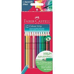 Farbstift AWF 112412 Colour Grip 2001, farbig sortiert, 12 Stück