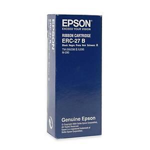 Epson C43S015366 ERC-27 ruban noir