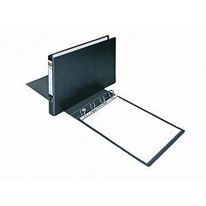 Dossier Elba - A3 horizontal - 4 argolas - preto