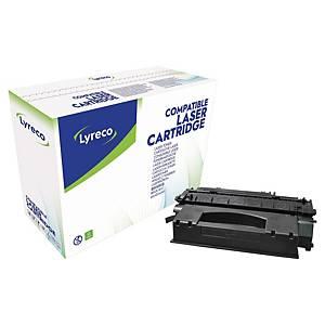 Tóner láser Lyreco compatible para HP 49X Q5949X y Canon 708H - negro