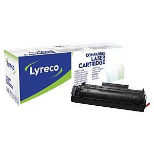 Toner laser Lyreco compatibile con HP Q2612X 12A-XL-LYR 4K nero