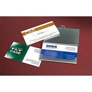 Caja de 80 tarjetas de visita Avery Quick&Clean C32015 - 85 x 54mm - 260 g