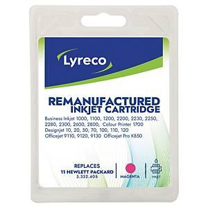 LYRECO kompatibilná atramentová kazeta HP 11 (C4837AE) magenta