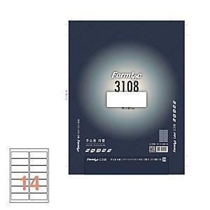 폼텍 주소용라벨 LS-3108 99.1×38.1MM 100매