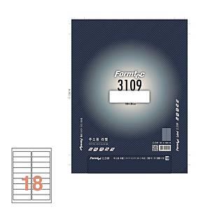 폼텍 주소용 라벨 LS-3109 100×30MM 100매