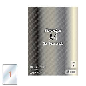 PK10 FORMTEC LC-3130 LASER LABEL 210X297