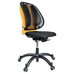 Fellowes back support in mesh black