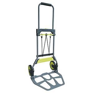 Safetool chariot pliable capacité jusqu à 90 kg gris