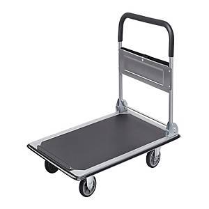 Carrello da trasporto con pianale pieghevole Safetool 150 kg