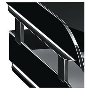 Lyreco 文件盤 黑色駁柱 - 每套4個