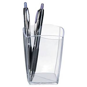 Lyreco Pen Pot Clear