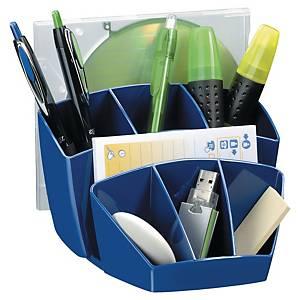 Schreibtischorganizer Lyreco Style mit vielen Fächern blau
