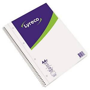 LYRECO 스프링 라인노트 70g A4 80매
