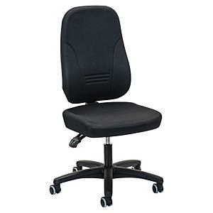 Prosedia Younico 1451 bureaustoel, stof, zwart