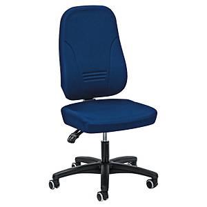 Chaise de bureau Prosedia Younico 1451, haut dossier 3D, chaise 3 h., bleu