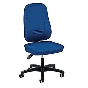 Bürostuhl Prosedia Younico 1451, hohe 3D-Rückenlehne, 3 Stunden-Stuhl, blau