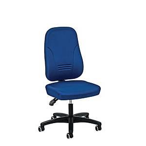 Cadeira com mecanismo de contacto permanente Prosedia Younico 1451 - azul