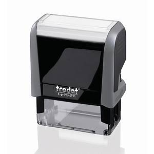 Sello con fórmula comercial  Contabilizado  Trodat Printy 4911P4.0F
