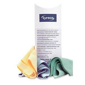 Microfasertücher für komfortable Reinigung in 3 Farben 3 Stück