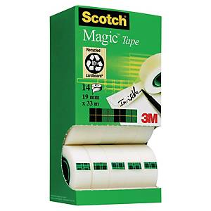 Scotch Magic teippi 19mm x 33m, 1 kpl=14 rullaa