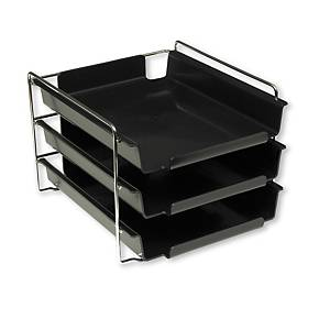 VISION 941010 RACK WITH 3 L/TRAY BLK