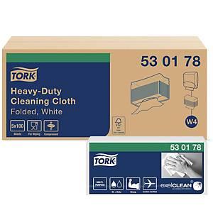 Reinigungstuch Tork Premium 530, Packung à 100 Tücher, weiss