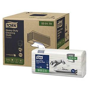 Viacúčelové utierky Tork Premium 530178 biele, 100 útržkov