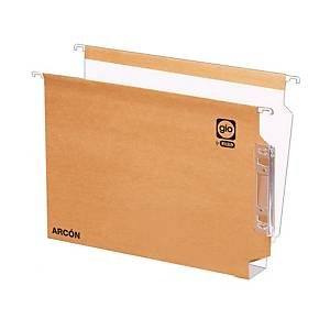 PK 25 LATERAL FILE A4 40MM KRAFT/WH