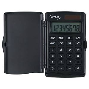 Calcolatrice tascabile Lyreco 8 cifre 5,6 x 10 cm