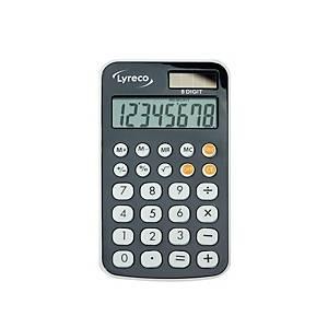 ลีเรคโก เครื่องคิดเลขชนิดพกพา D1265 8 หลัก