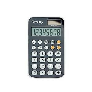 LYRECO I-1125 POCKET CALCULATOR 8 DIGITS