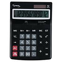 Calculadora de secretária Lyreco Office Desk - 12 dígitos - cinzento