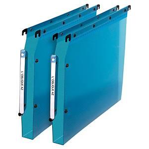 Dossier suspendu pour armoire Elba Design - PP - dos 30 mm - bleu - par 10
