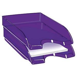 Cep Pro Happy letter tray clear purple