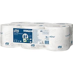 Tork SmartOne® toiletpapier, 2-laags, 1.150 vellen, pak van 6 rollen