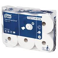 Papier toilette Tork SmartOne pour T8 - 2 plis - 6 rouleaux