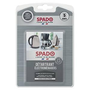 Détartrant Spado pour appareils électroménagers - paquet de 5 sachets