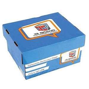 IQ CARBONLESS CONTINUOUS PAPER 2 PLY 9  X5.5   -BOX OF 2000