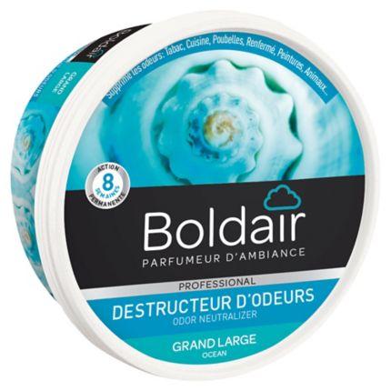 gel boldair destructeur d 39 odeurs senteur grand large 300g biodegradable. Black Bedroom Furniture Sets. Home Design Ideas